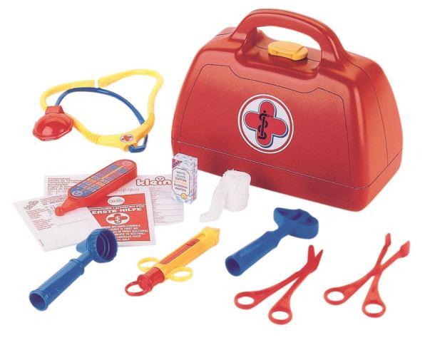 Dětský plastový doktorský kufr Klein