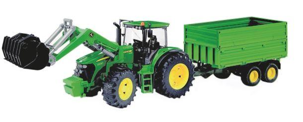 BRUDER Traktor JOHN DEERE 7930 s vozem s dvojitou stěnou