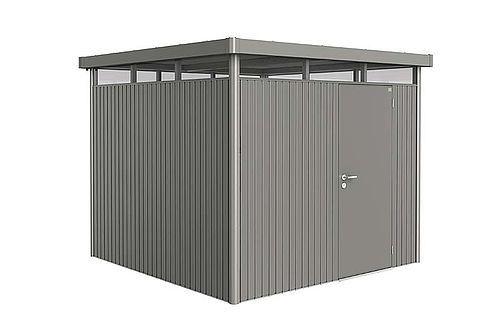 Biohort Zahradní domek HIGHLINE® H2, šedý křemen metalíza