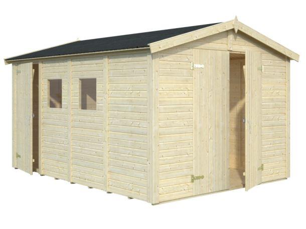 ZAHRADNÍ DOMEK Dan 10 m2 - (5 + 5 m2)