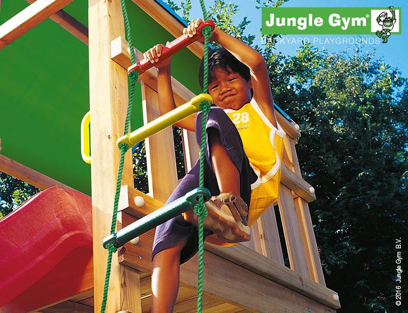 PŘÍSTAVEK K HRACÍ SESTAVĚ Jungle Gym 1 Step Module - provazový žebřík