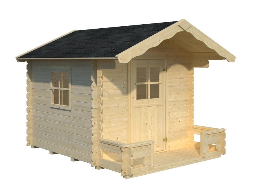 Dětský domek STINA  (196cm x 196cm) tl.  19mm