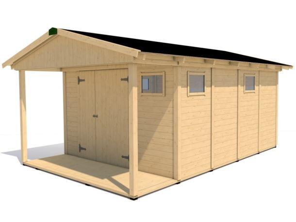 Zahradní domek HEROLD A3344 Plus 14,1+3,5 m2
