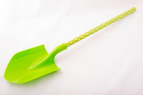 Dětské nářadí RÝČ plastový zelený