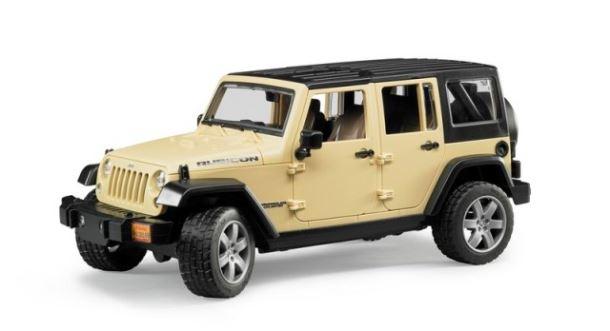 BRUDER - Jeep Wrangler červený