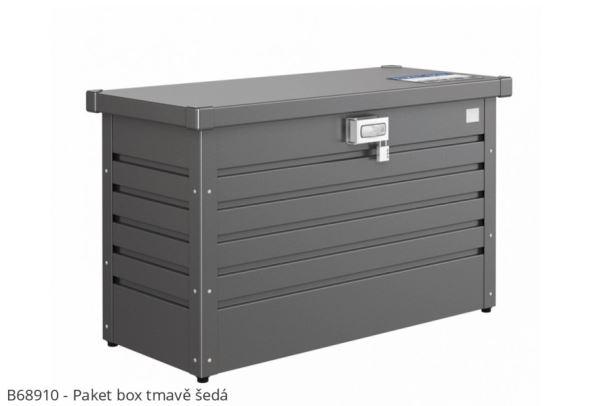 Biohort Box na balíky Paket-Box tmavě šedá metalíza