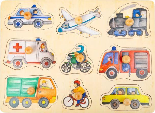 Puzzle městská vozidla