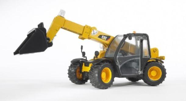 BRUDER - Manipulátor Caterpillar s výsuvným ramenem