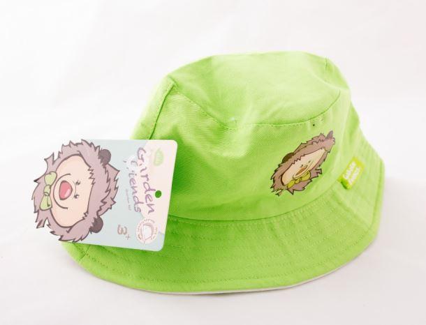Dětské nářadí KLOBOUČEK bavlněný zelený