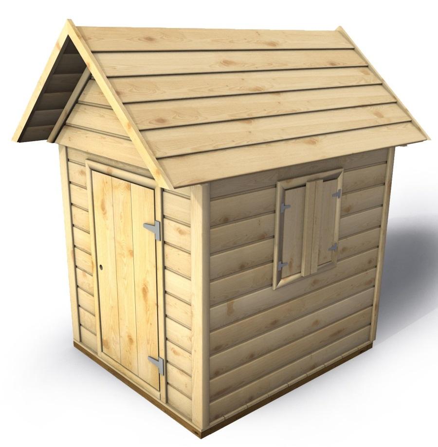 Dětský domeček Monkey´s Home David - 104 x 129 x 160 cm