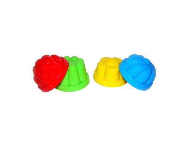 Formička na písek: bábovičky 4ks/bal.