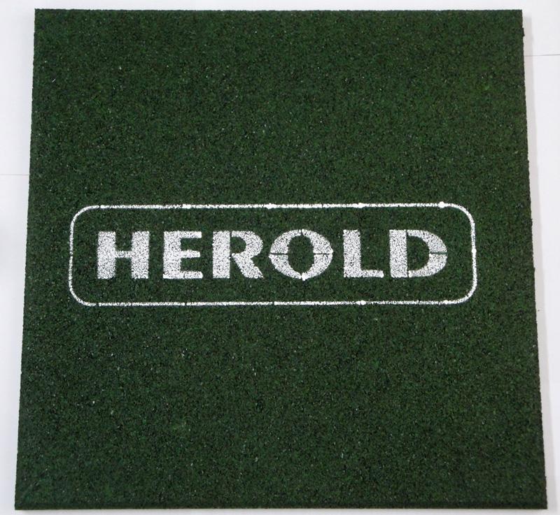 GUMOVÁ PODLOŽKA Herold zelená 20mm