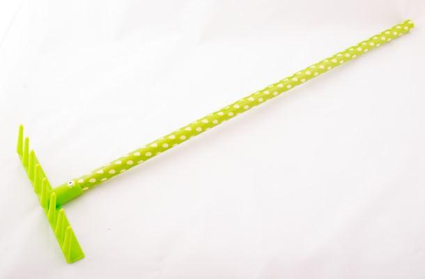 Dětské nářadí HRÁBĚ plastové zelené