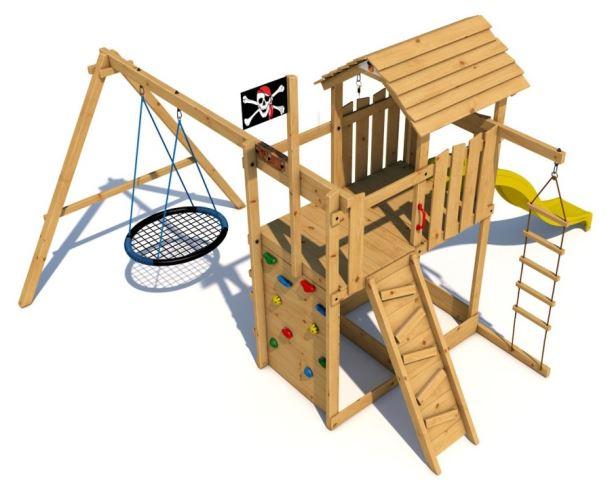Dětské hřiště Monkey´s Home Velký pirát NICK
