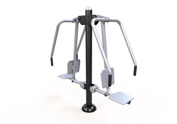 Fitness stroj - Posilovací stroj hrudník