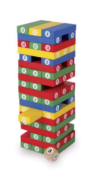 Dřevěné kostky Věž