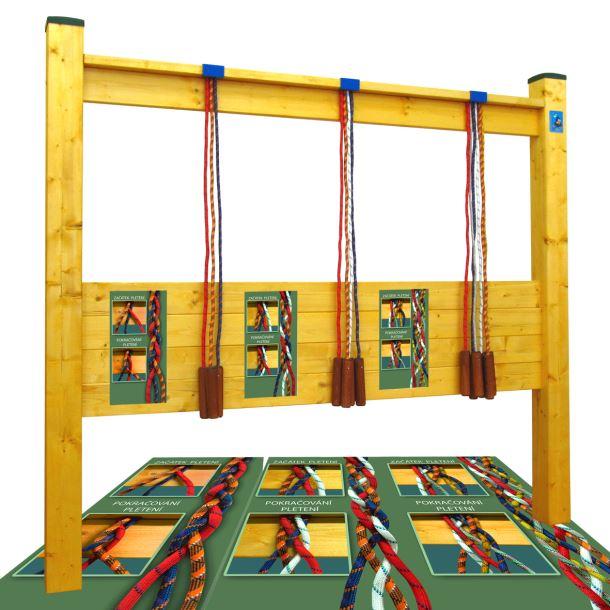 Hry na zahradu - Pletení lan