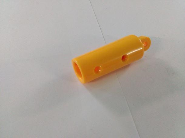 Ukončení šplhací sítě s okem žlutý
