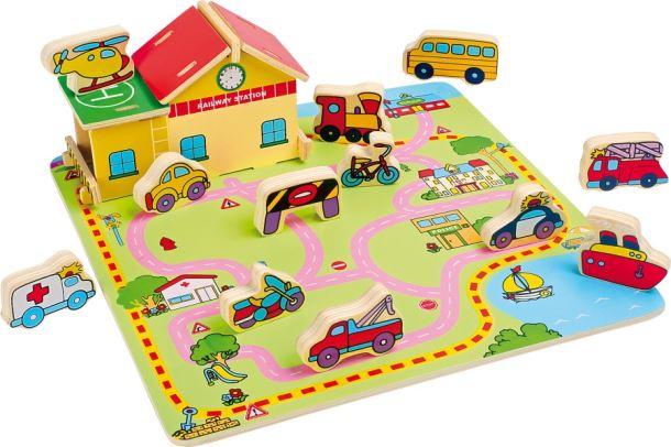 Puzzle silníčního provozu