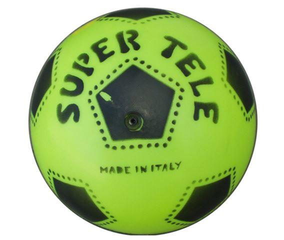 ACRA Plastový potištěný míč SUPER TELE FLUO