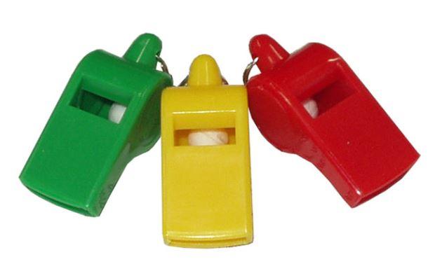 ACRA Plastová píšťalka