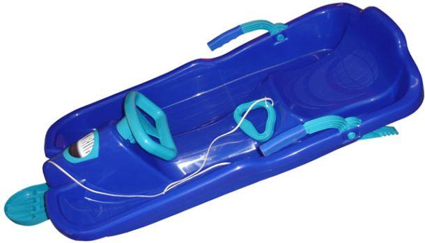 Acra Skibob s volantem A2035/1 - modrý