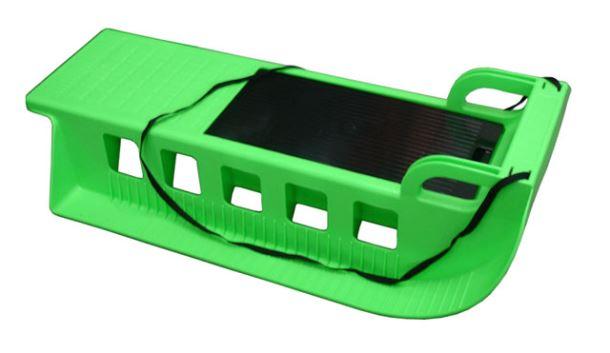 Acra Kamzík - plastové sáně 05-A2043 - zelený