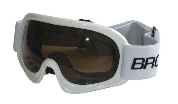 BROTHER B150-B lyžařské brýle DĚTSKÉ - bílé