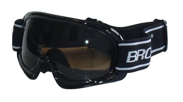 BROTHER B150-CRN lyžařské brýle - černé