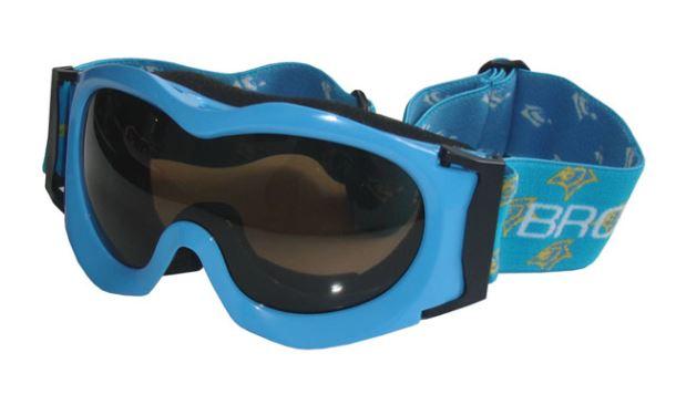 BROTHER B185-M lyžařské brýle - modré