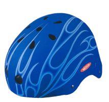 ACRA CSH112L modrá/černá skateboardová helma velikost L(58-60cm) 2013