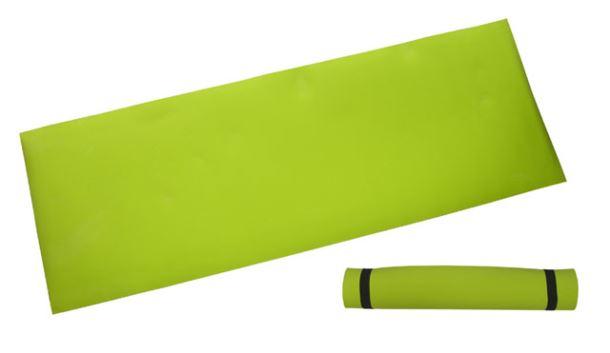 ACRA D81 Gymnastická podložka 173x61x0,4 cm, LEMON