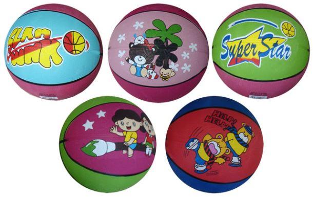 ACRA G2104 Basketbalový míč s potiskem vel. 5