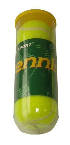 ACRA G7784 míčky tenisové v dóze 3ks
