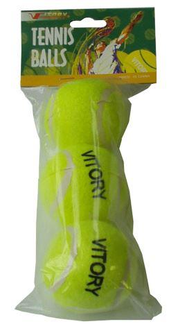 ACRA G7785 míčky tenisové 3ks v sáčku