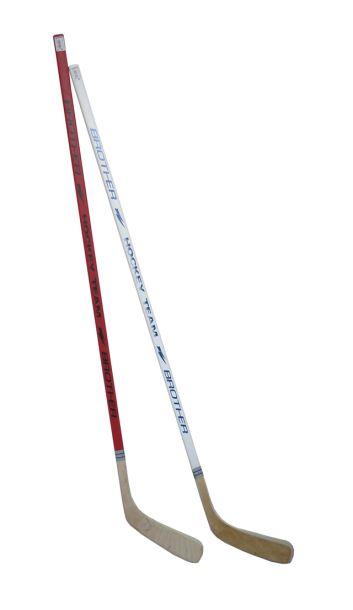 ACRA H3377-LE  Hokejka plastová s dýhou147cm - levá