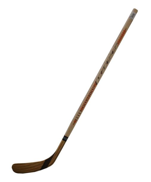 ACRA Hokejka dřevěná, laminovaná 107 cm - levá