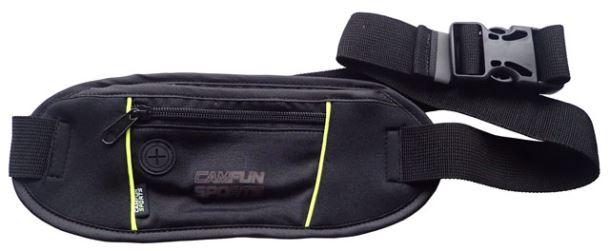 ACRA JXD12 Sportovní ledvinka s kapsičkou pro MP3