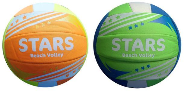 ACRA K6 Míč Beach volley NEOPRENE STARS