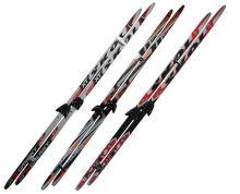ACRA LS75-195 Běžecký set - lyže,vázání 75 mm 195 cm