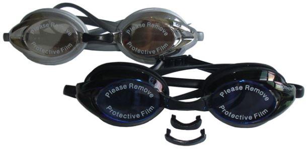 ACRA RACER Silikonové plavecké brýle