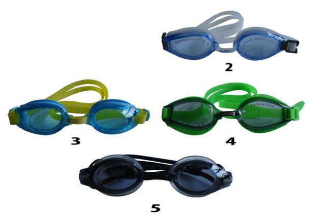 ACRA Závodní plavecké brýle - silikon