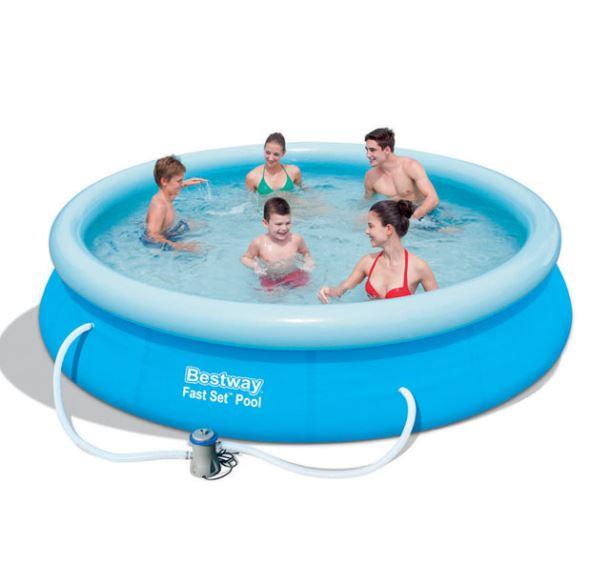Bestway 57274 Bazén samostavěcí 366 x 76 s filtrem